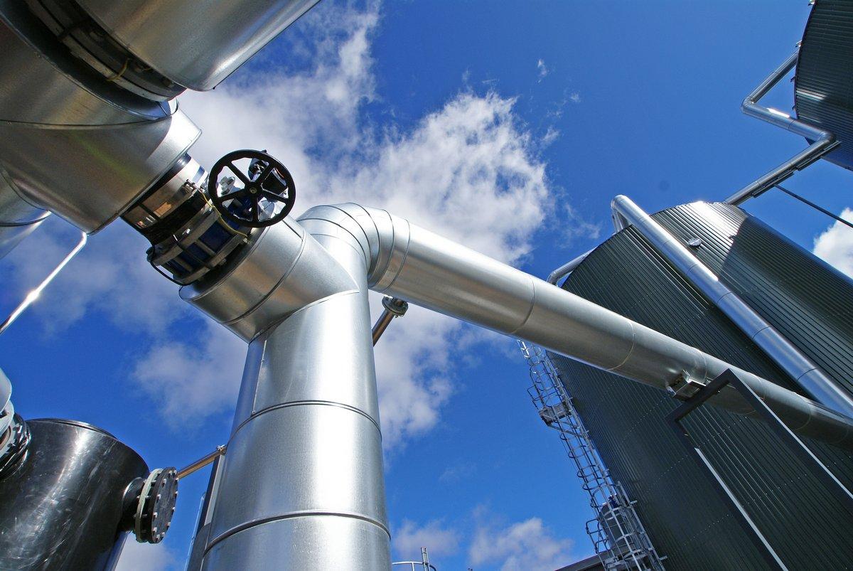Постер Газовая промышленность