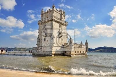 Постер Лиссабон Башня Белен В Лиссабон, ПортугалияЛиссабон<br>Постер на холсте или бумаге. Любого нужного вам размера. В раме или без. Подвес в комплекте. Трехслойная надежная упаковка. Доставим в любую точку России. Вам осталось только повесить картину на стену!<br>