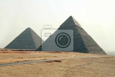 Постер Архитектура Постер 27634728, 30x20 см, на бумагеЕгипетские пирамиды<br>Постер на холсте или бумаге. Любого нужного вам размера. В раме или без. Подвес в комплекте. Трехслойная надежная упаковка. Доставим в любую точку России. Вам осталось только повесить картину на стену!<br>