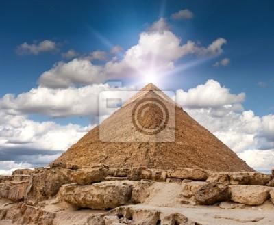 Постер Архитектура Постер 27766151, 24x20 см, на бумагеЕгипетские пирамиды<br>Постер на холсте или бумаге. Любого нужного вам размера. В раме или без. Подвес в комплекте. Трехслойная надежная упаковка. Доставим в любую точку России. Вам осталось только повесить картину на стену!<br>