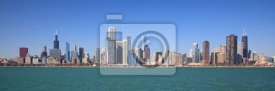 Постер Чикаго Чикаго город панорамныйЧикаго<br>Постер на холсте или бумаге. Любого нужного вам размера. В раме или без. Подвес в комплекте. Трехслойная надежная упаковка. Доставим в любую точку России. Вам осталось только повесить картину на стену!<br>