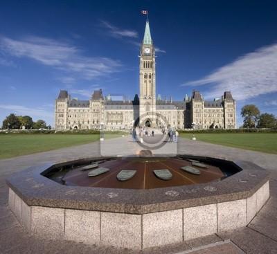 Постер Оттава Парламент Канады, герои пламени памятникОттава<br>Постер на холсте или бумаге. Любого нужного вам размера. В раме или без. Подвес в комплекте. Трехслойная надежная упаковка. Доставим в любую точку России. Вам осталось только повесить картину на стену!<br>