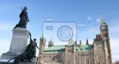Постер Города и карты Парламента Канады в Оттаве, 37x20 см, на бумагеОттава<br>Постер на холсте или бумаге. Любого нужного вам размера. В раме или без. Подвес в комплекте. Трехслойная надежная упаковка. Доставим в любую точку России. Вам осталось только повесить картину на стену!<br>