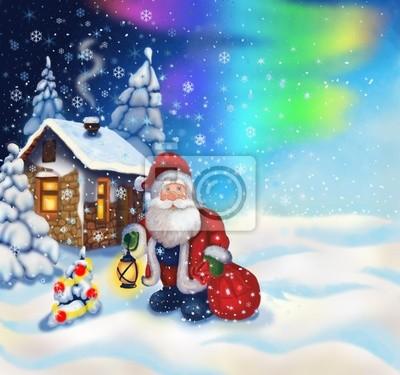 Постер Праздники Постер 28110656, 21x20 см, на бумаге11.18 День рождения Деда Мороза<br>Постер на холсте или бумаге. Любого нужного вам размера. В раме или без. Подвес в комплекте. Трехслойная надежная упаковка. Доставим в любую точку России. Вам осталось только повесить картину на стену!<br>