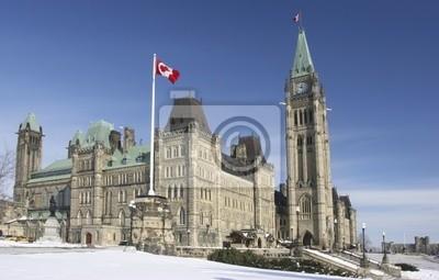 Канадский парламент в зимний период, 31x20 см, на бумагеОттава<br>Постер на холсте или бумаге. Любого нужного вам размера. В раме или без. Подвес в комплекте. Трехслойная надежная упаковка. Доставим в любую точку России. Вам осталось только повесить картину на стену!<br>