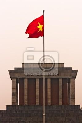Постер Ханой Ho Chi Minh Mausoleum на закате, Ханой, Вьетнам.Ханой<br>Постер на холсте или бумаге. Любого нужного вам размера. В раме или без. Подвес в комплекте. Трехслойная надежная упаковка. Доставим в любую точку России. Вам осталось только повесить картину на стену!<br>