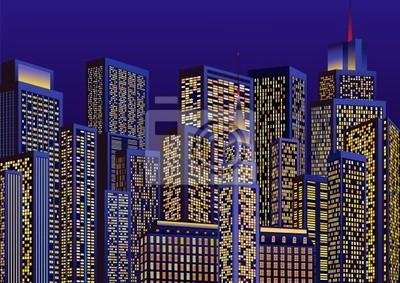 Пейзаж современный городской Огни ночного городаПейзаж современный городской<br>Репродукция на холсте или бумаге. Любого нужного вам размера. В раме или без. Подвес в комплекте. Трехслойная надежная упаковка. Доставим в любую точку России. Вам осталось только повесить картину на стену!<br>
