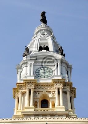 Постер Филадельфия Philadelphia City Hall Башня С ЧасамиФиладельфия<br>Постер на холсте или бумаге. Любого нужного вам размера. В раме или без. Подвес в комплекте. Трехслойная надежная упаковка. Доставим в любую точку России. Вам осталось только повесить картину на стену!<br>