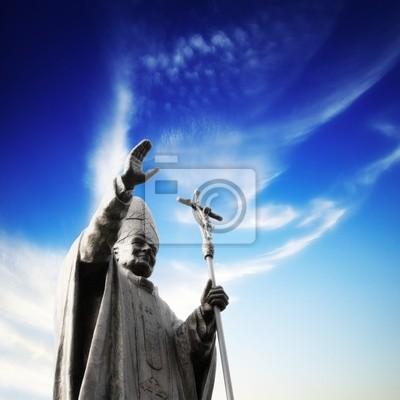 Постер Ватикан Статуя папыВатикан<br>Постер на холсте или бумаге. Любого нужного вам размера. В раме или без. Подвес в комплекте. Трехслойная надежная упаковка. Доставим в любую точку России. Вам осталось только повесить картину на стену!<br>