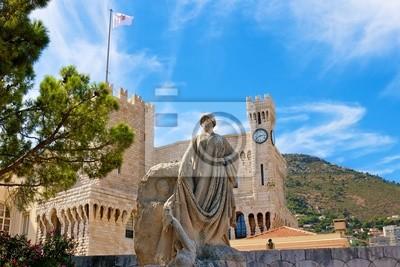 Постер Монако Княжеский дворец в МонакоМонако<br>Постер на холсте или бумаге. Любого нужного вам размера. В раме или без. Подвес в комплекте. Трехслойная надежная упаковка. Доставим в любую точку России. Вам осталось только повесить картину на стену!<br>