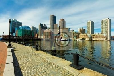 Постер Города и карты Boston Financial District в штате Массачусетс, 30x20 см, на бумагеБостон<br>Постер на холсте или бумаге. Любого нужного вам размера. В раме или без. Подвес в комплекте. Трехслойная надежная упаковка. Доставим в любую точку России. Вам осталось только повесить картину на стену!<br>