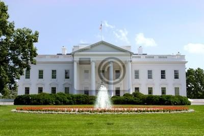 Постер Вашингтон Белый Дом, Вашингтон, округ Колумбия, СШАВашингтон<br>Постер на холсте или бумаге. Любого нужного вам размера. В раме или без. Подвес в комплекте. Трехслойная надежная упаковка. Доставим в любую точку России. Вам осталось только повесить картину на стену!<br>