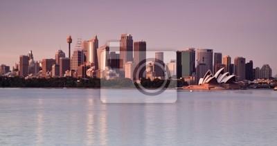 Постер Города и карты Sydney Harbour Панорама, 38x20 см, на бумагеСидней<br>Постер на холсте или бумаге. Любого нужного вам размера. В раме или без. Подвес в комплекте. Трехслойная надежная упаковка. Доставим в любую точку России. Вам осталось только повесить картину на стену!<br>