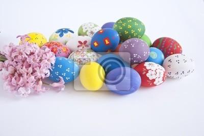 Постер Гиацинты Пасхальные яйца с гиацинтГиацинты<br>Постер на холсте или бумаге. Любого нужного вам размера. В раме или без. Подвес в комплекте. Трехслойная надежная упаковка. Доставим в любую точку России. Вам осталось только повесить картину на стену!<br>