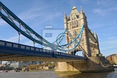 Постер Города и карты Tower Bridge, Лондон, Англия, Великобритания, Европа, 30x20 см, на бумагеЛондон<br>Постер на холсте или бумаге. Любого нужного вам размера. В раме или без. Подвес в комплекте. Трехслойная надежная упаковка. Доставим в любую точку России. Вам осталось только повесить картину на стену!<br>
