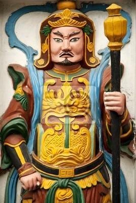 Постер Ханой Статуя в храме в Ханой, ВьетнамХаной<br>Постер на холсте или бумаге. Любого нужного вам размера. В раме или без. Подвес в комплекте. Трехслойная надежная упаковка. Доставим в любую точку России. Вам осталось только повесить картину на стену!<br>