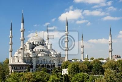 Постер Турция Мечеть султана Ахмета в Стамбуле, ТурцияТурция<br>Постер на холсте или бумаге. Любого нужного вам размера. В раме или без. Подвес в комплекте. Трехслойная надежная упаковка. Доставим в любую точку России. Вам осталось только повесить картину на стену!<br>