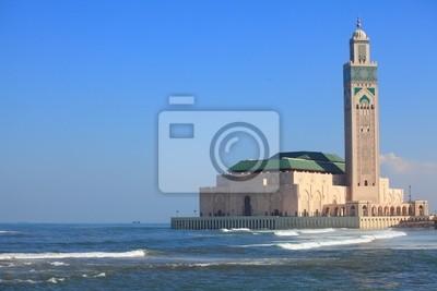 Постер Марокко Умереть Мечеть Хасана II в КасабланкеМарокко<br>Постер на холсте или бумаге. Любого нужного вам размера. В раме или без. Подвес в комплекте. Трехслойная надежная упаковка. Доставим в любую точку России. Вам осталось только повесить картину на стену!<br>