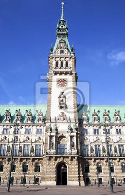 Гамбургской ратуше, Rathaus, 20x31 см, на бумагеГамбург<br>Постер на холсте или бумаге. Любого нужного вам размера. В раме или без. Подвес в комплекте. Трехслойная надежная упаковка. Доставим в любую точку России. Вам осталось только повесить картину на стену!<br>