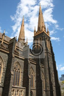 Постер Мельбурн Мельбурн - собор Святого ПатрикаМельбурн<br>Постер на холсте или бумаге. Любого нужного вам размера. В раме или без. Подвес в комплекте. Трехслойная надежная упаковка. Доставим в любую точку России. Вам осталось только повесить картину на стену!<br>