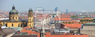 Постер Мюнхен Мюнхен панорама городаМюнхен<br>Постер на холсте или бумаге. Любого нужного вам размера. В раме или без. Подвес в комплекте. Трехслойная надежная упаковка. Доставим в любую точку России. Вам осталось только повесить картину на стену!<br>