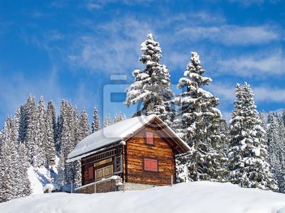 Постер Зима Зима в АльпахЗима<br>Постер на холсте или бумаге. Любого нужного вам размера. В раме или без. Подвес в комплекте. Трехслойная надежная упаковка. Доставим в любую точку России. Вам осталось только повесить картину на стену!<br>