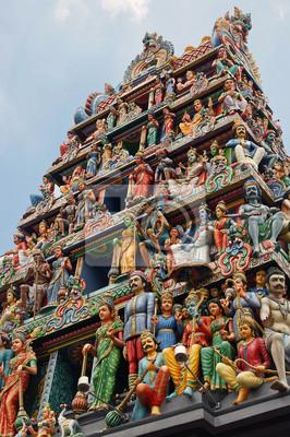 Постер Сингапур Sri Mariamman Temple СингапурСингапур<br>Постер на холсте или бумаге. Любого нужного вам размера. В раме или без. Подвес в комплекте. Трехслойная надежная упаковка. Доставим в любую точку России. Вам осталось только повесить картину на стену!<br>