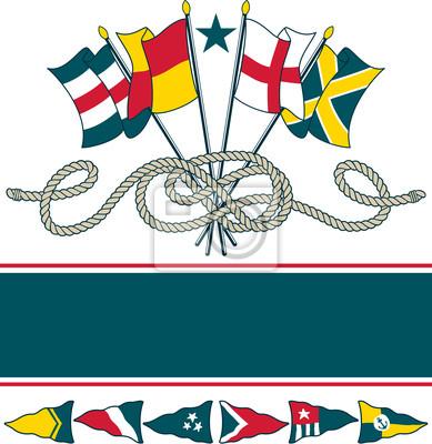 Постер Морские флагиМеждународные морские сигнальные флаги<br>Постер на холсте или бумаге. Любого нужного вам размера. В раме или без. Подвес в комплекте. Трехслойная надежная упаковка. Доставим в любую точку России. Вам осталось только повесить картину на стену!<br>