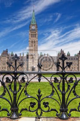 Постер Оттава Парламентском Холме в Оттаве, КанадаОттава<br>Постер на холсте или бумаге. Любого нужного вам размера. В раме или без. Подвес в комплекте. Трехслойная надежная упаковка. Доставим в любую точку России. Вам осталось только повесить картину на стену!<br>