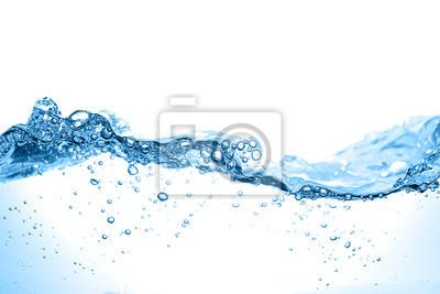 Постер Капли Чистой воды и пузырьков водыКапли<br>Постер на холсте или бумаге. Любого нужного вам размера. В раме или без. Подвес в комплекте. Трехслойная надежная упаковка. Доставим в любую точку России. Вам осталось только повесить картину на стену!<br>