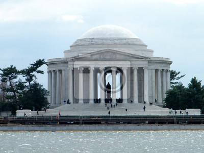 Постер Города и карты Washington Jefferson Memorial 2011 Года, 27x20 см, на бумагеВашингтон<br>Постер на холсте или бумаге. Любого нужного вам размера. В раме или без. Подвес в комплекте. Трехслойная надежная упаковка. Доставим в любую точку России. Вам осталось только повесить картину на стену!<br>
