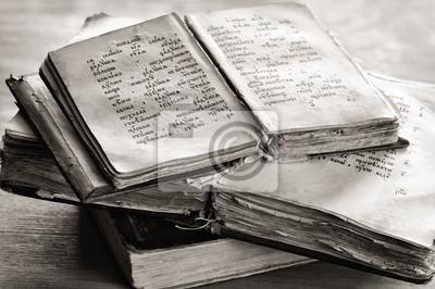 Старые церковные книги., 30x20 см, на бумаге05.24 День славянской письменности и культуры<br>Постер на холсте или бумаге. Любого нужного вам размера. В раме или без. Подвес в комплекте. Трехслойная надежная упаковка. Доставим в любую точку России. Вам осталось только повесить картину на стену!<br>