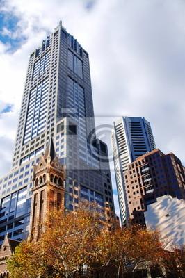 Постер Города и карты Городские здания и сооружения, 20x30 см, на бумагеМельбурн<br>Постер на холсте или бумаге. Любого нужного вам размера. В раме или без. Подвес в комплекте. Трехслойная надежная упаковка. Доставим в любую точку России. Вам осталось только повесить картину на стену!<br>