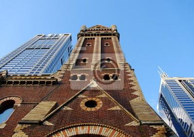 Постер Мельбурн Городские здания и сооруженияМельбурн<br>Постер на холсте или бумаге. Любого нужного вам размера. В раме или без. Подвес в комплекте. Трехслойная надежная упаковка. Доставим в любую точку России. Вам осталось только повесить картину на стену!<br>