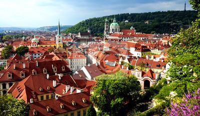 Постер Прага Прага, вид на исторический город, Чешская РеспубликаПрага<br>Постер на холсте или бумаге. Любого нужного вам размера. В раме или без. Подвес в комплекте. Трехслойная надежная упаковка. Доставим в любую точку России. Вам осталось только повесить картину на стену!<br>