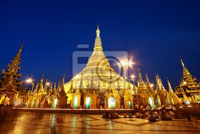 Shwedagon pagoda, 30x20 см, на бумагеМьянма (Бирма)<br>Постер на холсте или бумаге. Любого нужного вам размера. В раме или без. Подвес в комплекте. Трехслойная надежная упаковка. Доставим в любую точку России. Вам осталось только повесить картину на стену!<br>