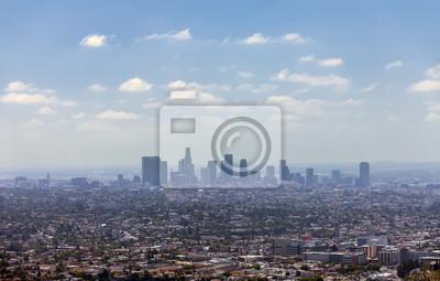 Постер Города и карты Los Angeles downtown, вид с высоты птичьего полета, 31x20 см, на бумагеЛос-Анджелес<br>Постер на холсте или бумаге. Любого нужного вам размера. В раме или без. Подвес в комплекте. Трехслойная надежная упаковка. Доставим в любую точку России. Вам осталось только повесить картину на стену!<br>
