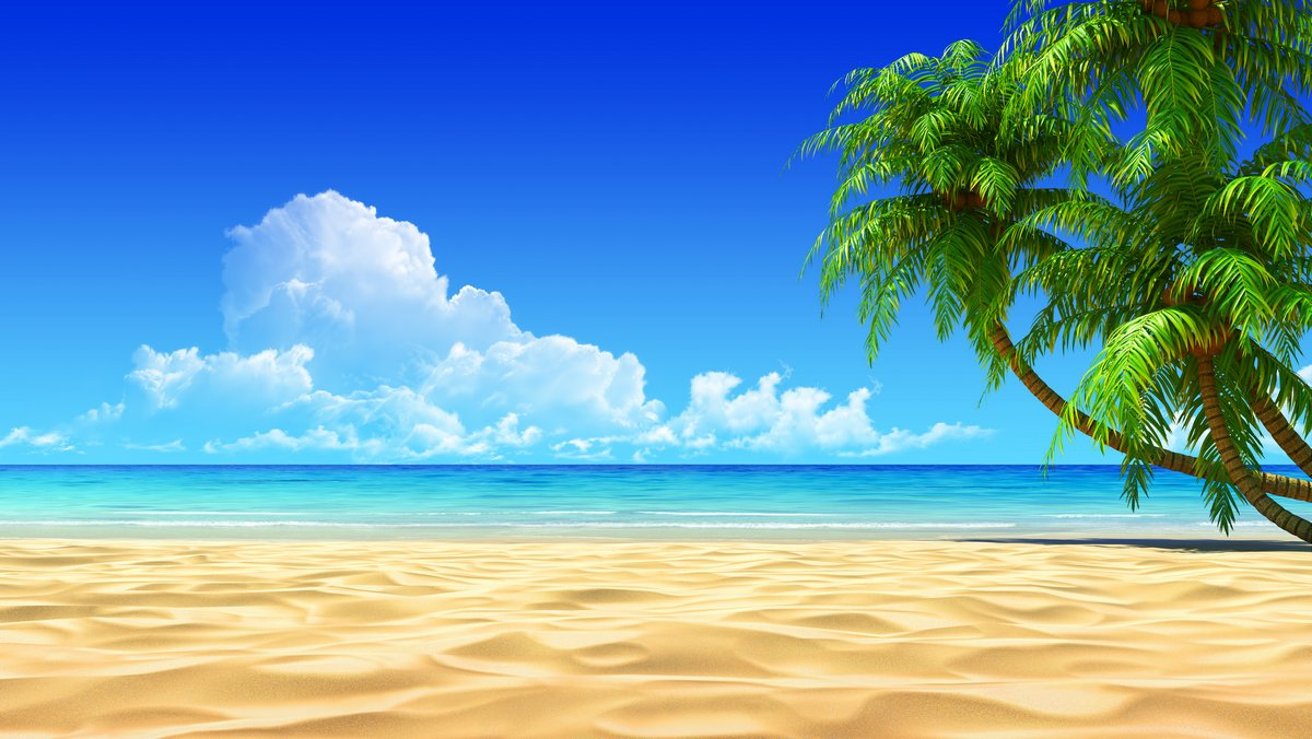 Постер Пейзаж морской Ладони на пустой идиллический тропический песок пляжаПейзаж морской<br>Постер на холсте или бумаге. Любого нужного вам размера. В раме или без. Подвес в комплекте. Трехслойная надежная упаковка. Доставим в любую точку России. Вам осталось только повесить картину на стену!<br>