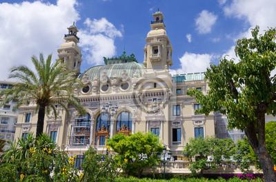 Постер Монако Опера в МонакоМонако<br>Постер на холсте или бумаге. Любого нужного вам размера. В раме или без. Подвес в комплекте. Трехслойная надежная упаковка. Доставим в любую точку России. Вам осталось только повесить картину на стену!<br>
