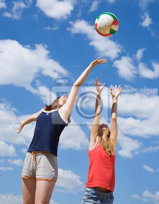 Девушки играли в волейбол, 20x26 см, на бумагеВолейбол<br>Постер на холсте или бумаге. Любого нужного вам размера. В раме или без. Подвес в комплекте. Трехслойная надежная упаковка. Доставим в любую точку России. Вам осталось только повесить картину на стену!<br>
