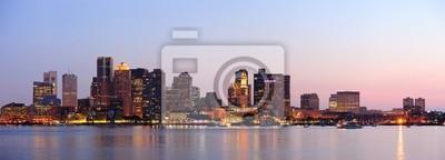 Постер Бостон Бостон downtown панорама на закатеБостон<br>Постер на холсте или бумаге. Любого нужного вам размера. В раме или без. Подвес в комплекте. Трехслойная надежная упаковка. Доставим в любую точку России. Вам осталось только повесить картину на стену!<br>
