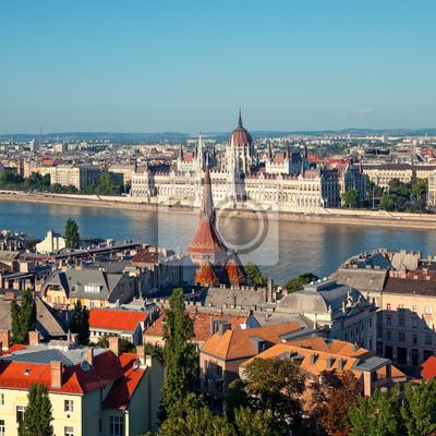 Постер Будапешт Венгерский парламент вид из будайской крепости.Будапешт<br>Постер на холсте или бумаге. Любого нужного вам размера. В раме или без. Подвес в комплекте. Трехслойная надежная упаковка. Доставим в любую точку России. Вам осталось только повесить картину на стену!<br>