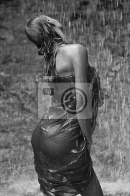Сексуальная девушка под водопад, 20x30 см, на бумагеФотоэротика<br>Постер на холсте или бумаге. Любого нужного вам размера. В раме или без. Подвес в комплекте. Трехслойная надежная упаковка. Доставим в любую точку России. Вам осталось только повесить картину на стену!<br>