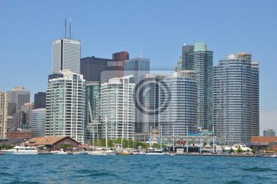 Постер Торонто Торонто Горизонта в КанадеТоронто<br>Постер на холсте или бумаге. Любого нужного вам размера. В раме или без. Подвес в комплекте. Трехслойная надежная упаковка. Доставим в любую точку России. Вам осталось только повесить картину на стену!<br>