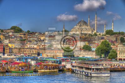 Постер Стамбул Стамбул, ТурцияСтамбул<br>Постер на холсте или бумаге. Любого нужного вам размера. В раме или без. Подвес в комплекте. Трехслойная надежная упаковка. Доставим в любую точку России. Вам осталось только повесить картину на стену!<br>