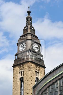 Постер Гамбург Башня с часами в Гамбурге (Германия), 20x30 см, на бумагеГамбург<br>Постер на холсте или бумаге. Любого нужного вам размера. В раме или без. Подвес в комплекте. Трехслойная надежная упаковка. Доставим в любую точку России. Вам осталось только повесить картину на стену!<br>