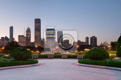 Постер Чикаго Чикаго Грант-ПаркЧикаго<br>Постер на холсте или бумаге. Любого нужного вам размера. В раме или без. Подвес в комплекте. Трехслойная надежная упаковка. Доставим в любую точку России. Вам осталось только повесить картину на стену!<br>