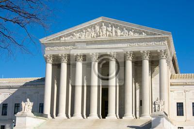 Постер Вашингтон Фронт на Верховный Суд США в Вашингтоне, округ Колумбия.Вашингтон<br>Постер на холсте или бумаге. Любого нужного вам размера. В раме или без. Подвес в комплекте. Трехслойная надежная упаковка. Доставим в любую точку России. Вам осталось только повесить картину на стену!<br>