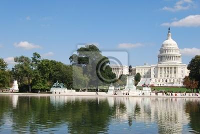 Постер Вашингтон Вашингтон, Капитолий, СШАВашингтон<br>Постер на холсте или бумаге. Любого нужного вам размера. В раме или без. Подвес в комплекте. Трехслойная надежная упаковка. Доставим в любую точку России. Вам осталось только повесить картину на стену!<br>