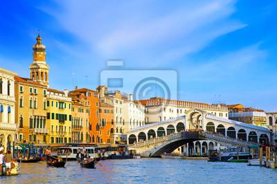 Постер Венеция Красивая улица,большой Канал в Венеции, ИталияВенеция<br>Постер на холсте или бумаге. Любого нужного вам размера. В раме или без. Подвес в комплекте. Трехслойная надежная упаковка. Доставим в любую точку России. Вам осталось только повесить картину на стену!<br>